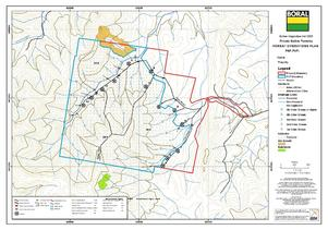 Forest Operations Plan Map