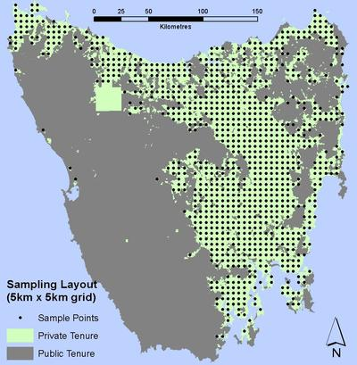 5km Sampling Grid